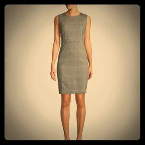 Gray sleeveless dress w/blazer- Calvin Klein